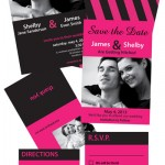 Qwik Print Wedding Stationery Samples
