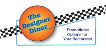 qwikprint designer diner restaurant media