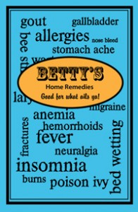 Cover of Betty's Home Remedies