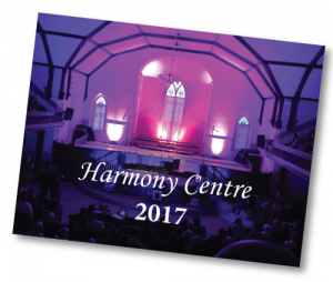 Harmony Centre Calendar