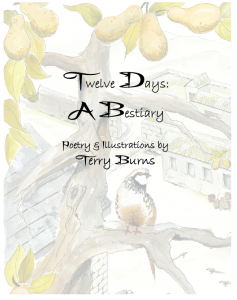 Twelve Days A Bestiary Cover